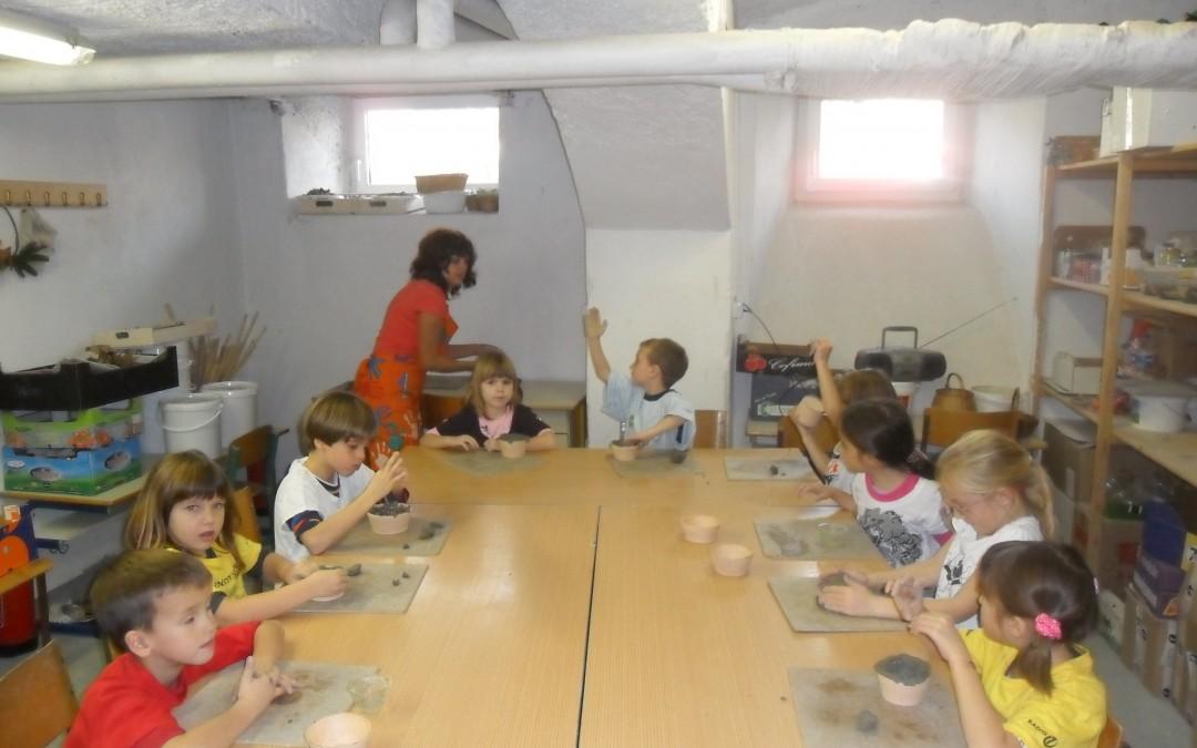 Ustvarjalne delavnice prvošolcev